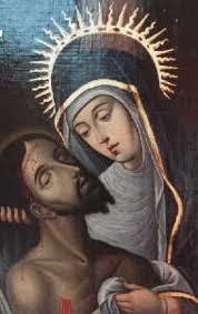 Compartiendo por amor: Virgen Dolorosa