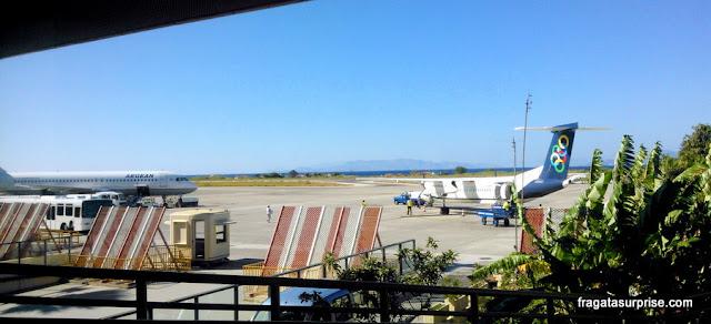 Aeroporto de Diágoras, Ilha de Rodes, Grécia