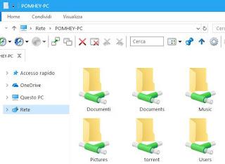 guida condivisione file