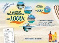 Logo Lidl Viaggi ti porta in vacanza con Cien Sun: vinci ogni settimana 1 vacanza da 1.000€ e 2 buoni viaggio da 100€ al giorno!