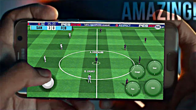 Download PES 2019 Mobile Android Graphics Patch New Ground Best Graphics (Android/IOS)