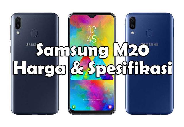 Dunia digital khususnya Smartphone memang tak ada habisnya Harga dan Spesifikasi Samsung Galaxy M20