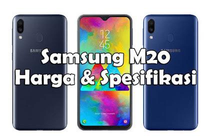 Harga dan Spesifikasi Samsung Galaxy M20