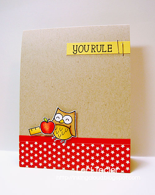 You Rule card-designed by Lori Tecler/Inking Aloud-stamps from Lawn Fawn