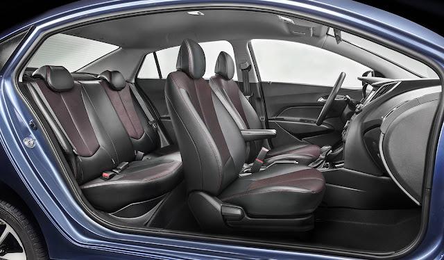 Hyundai HB20S 2017 Ocean - interior