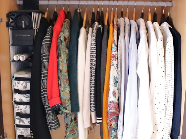 HOW TO ORGANISE AND CLEAR-OUT YOUR CLOSET