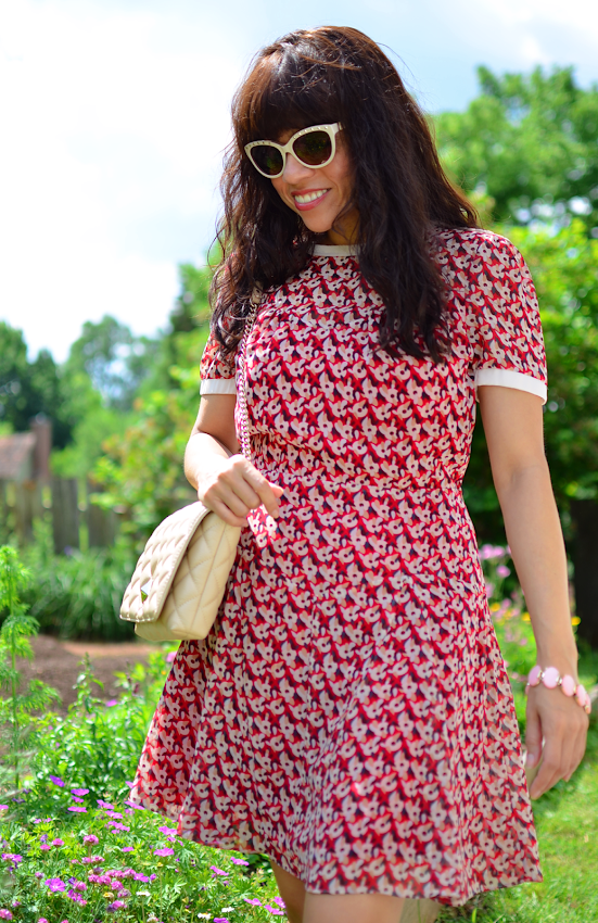 How to style a floral dress