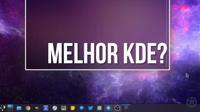 Qual a melhor distro com KDE Plasma?