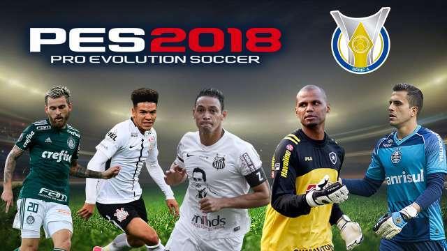 Brasileiro Serie A Facepack PES 2018