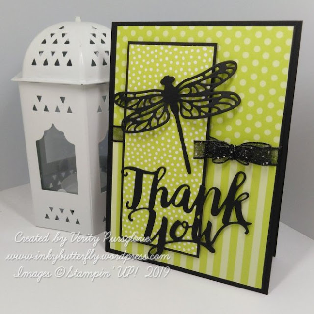 Dragonfly thinlits Stampin Up