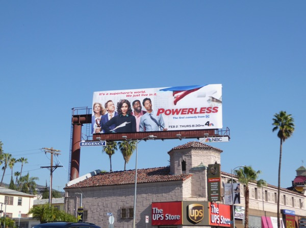 Powerless season 1 billboard