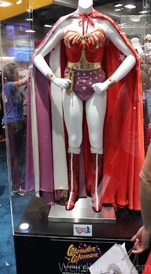 Original Wonder Woman costume worn by Lynda Carter