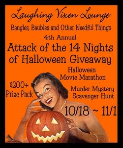 Laughing Vixen Lounge Annual Halloween Giveaway