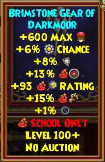 Best Fire Gear (Level 120+) | Wizard101