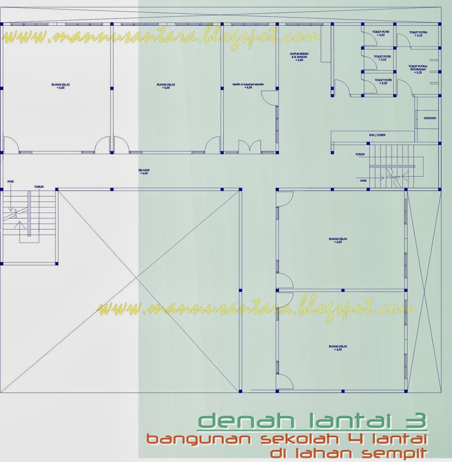 ManNusantara Design Indonesia: Desain bangunan Sekolah