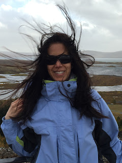 The wind was crazy strong in Þingvellir National Park