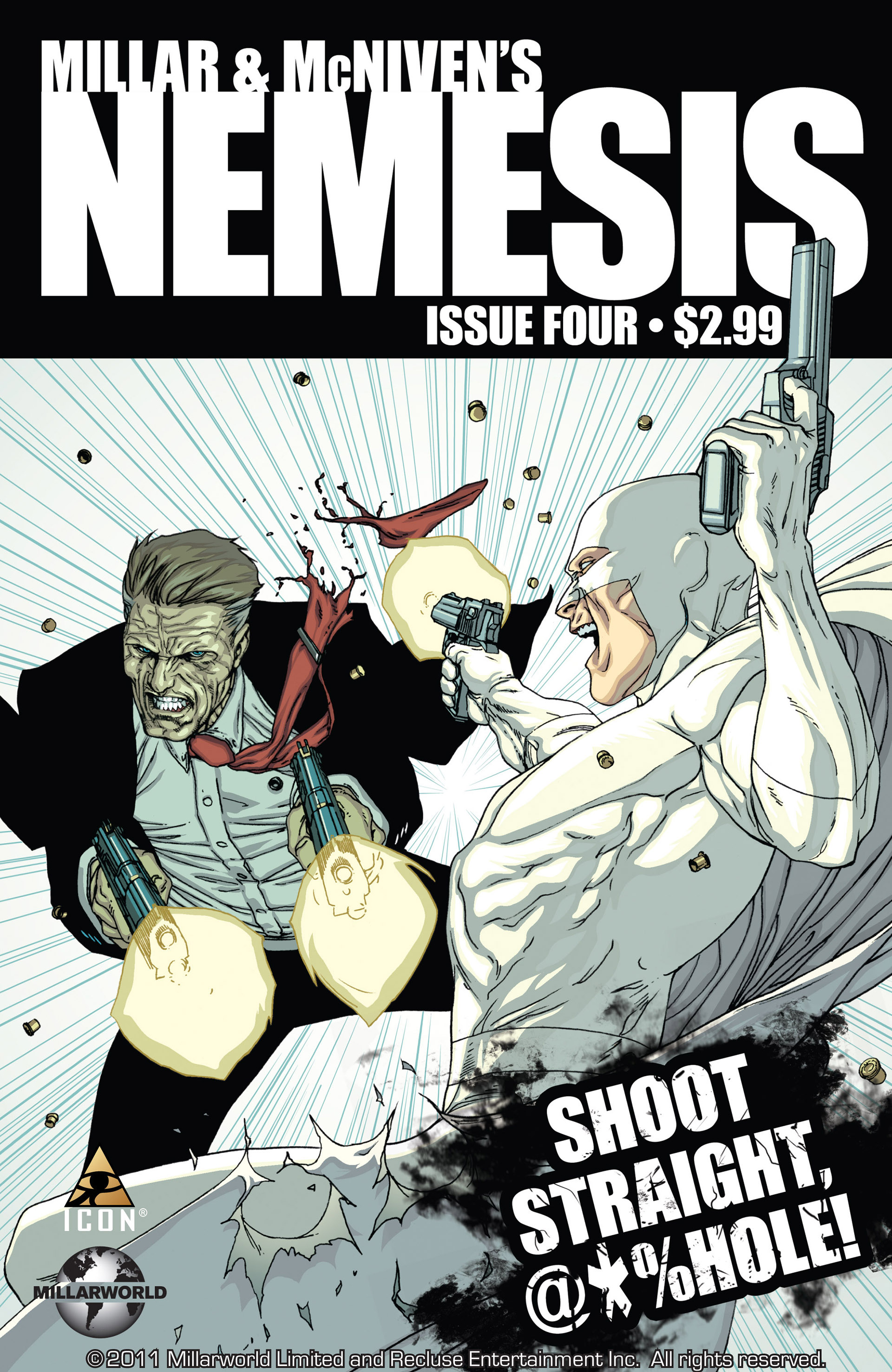 Read online Millar & McNiven's Nemesis comic -  Issue #4 - 1