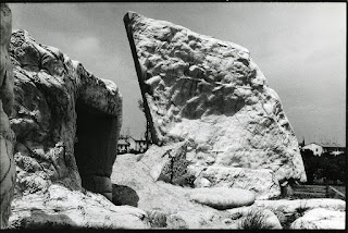 Unusual rock formations abound in the chalky landscape around San Lazzaro di Savena