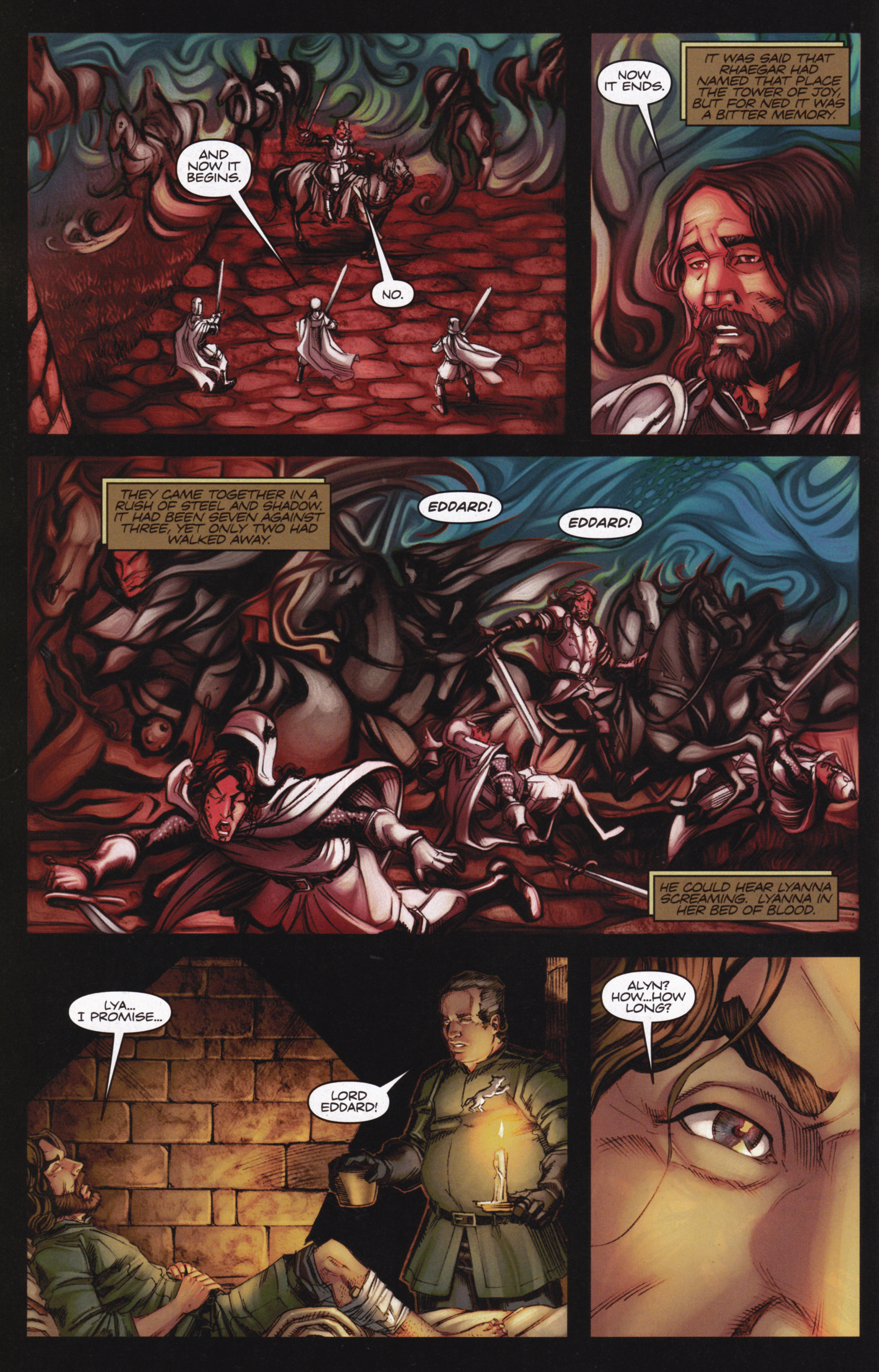 Read online A Game Of Thrones comic -  Issue #13 - 4