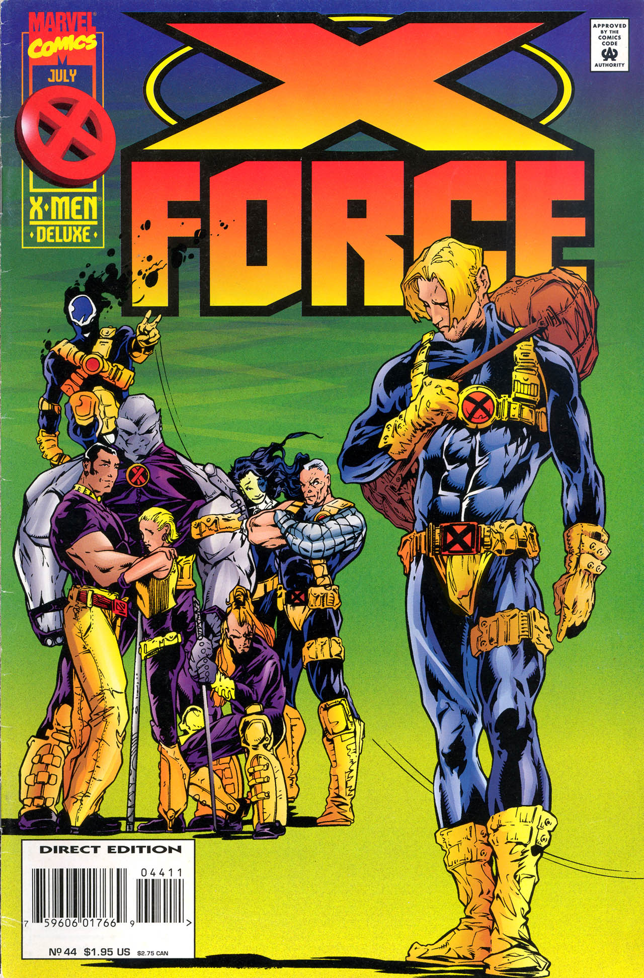 X-Force (1991) 44 Page 1