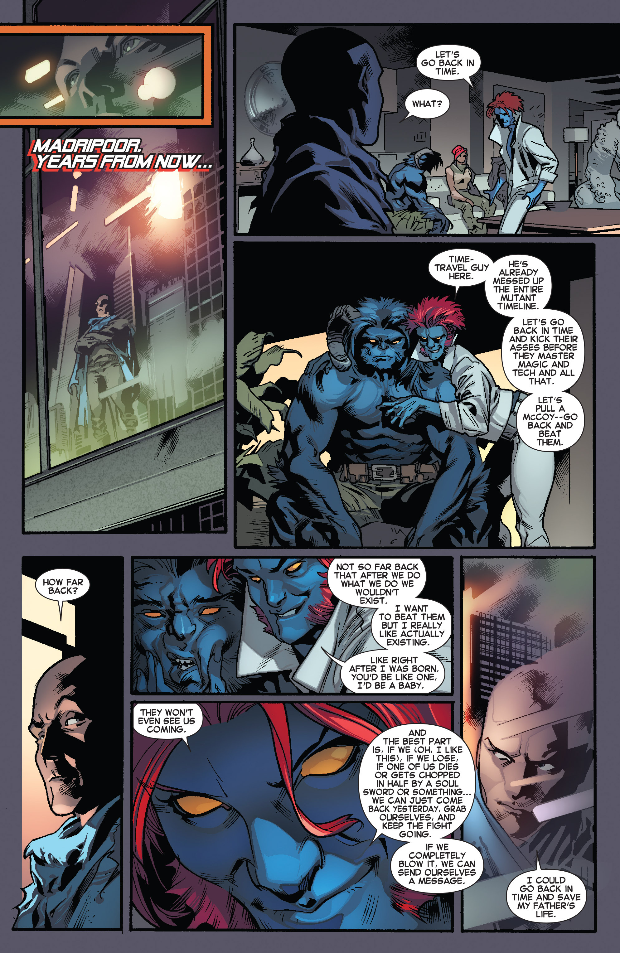 Read online All-New X-Men (2013) comic -  Issue # _Special - One Down - 81