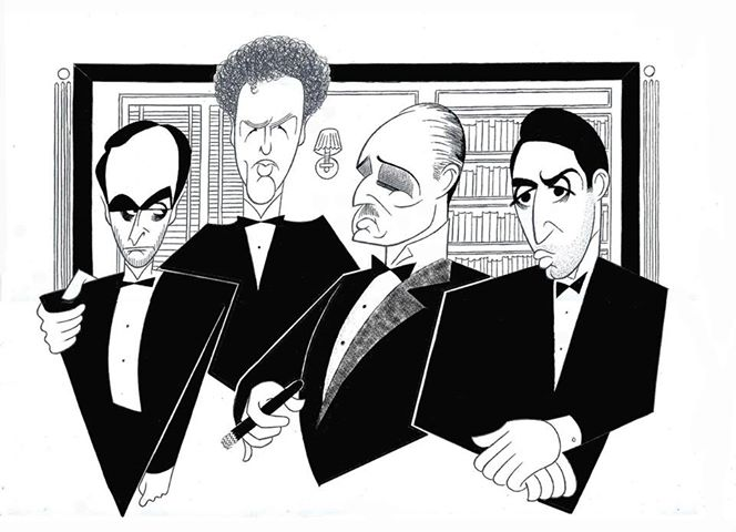The Art Of Caricature With Three Of The Best Ken Fallin Al Hirschfeld And Glen Hanson