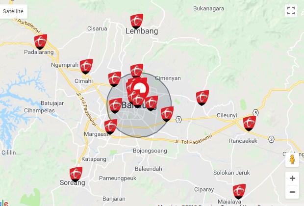 Daftar Alamat GraPARI Telkomsel Bandung Terbaru 2019