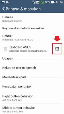 cara menampilkan emoji atau emoticon keyboard asus zenfone 5
