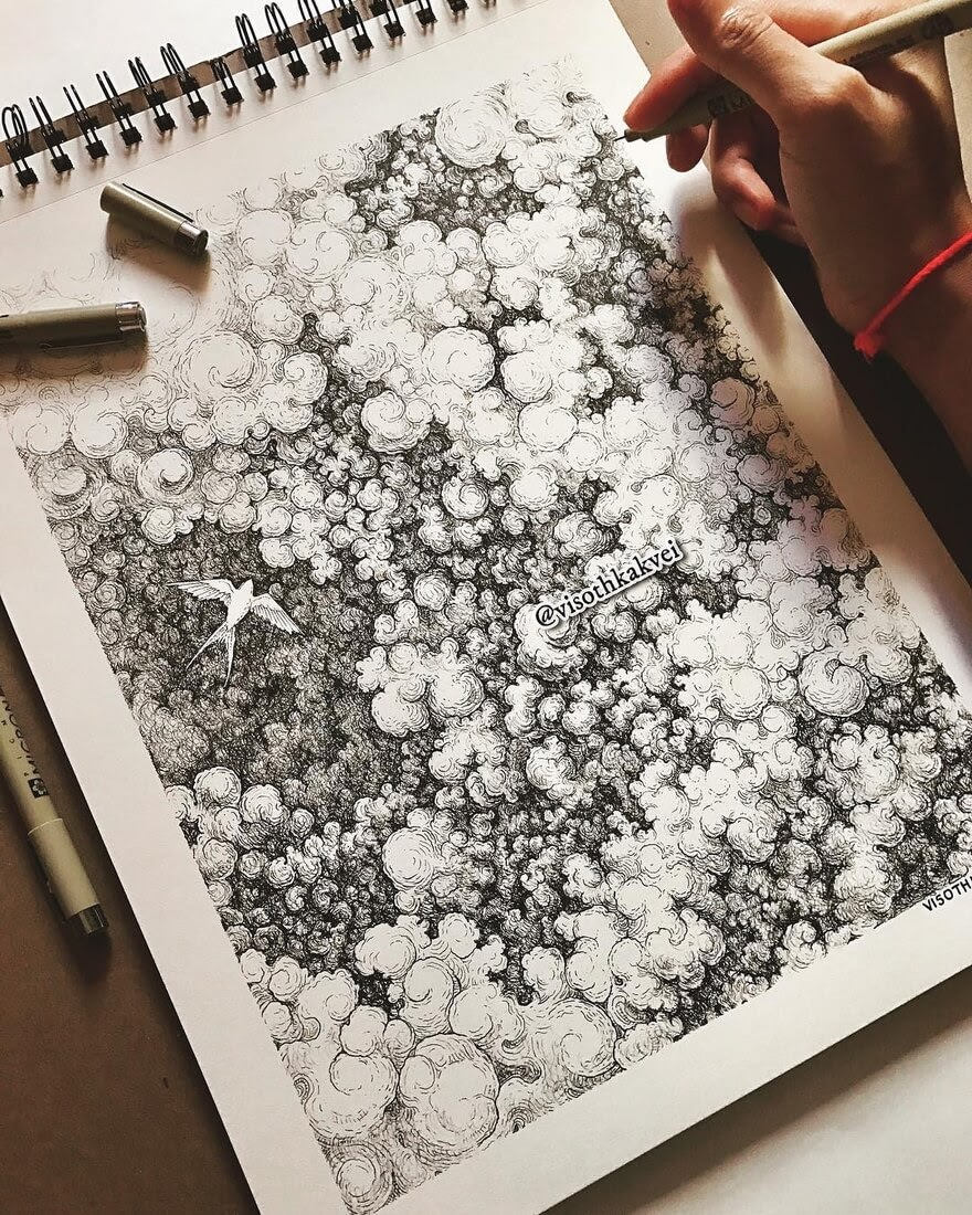 11-Through-the-Storm-Visoth-Kakvei-visothkakvei-Intricate-and-Ornate-Black-and-White-Drawings-www-designstack-co