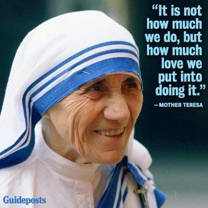 "Catholic Quotes Mother Teresa: Catholic News World : Quote To SHARE By #MotherTeresa ""It"