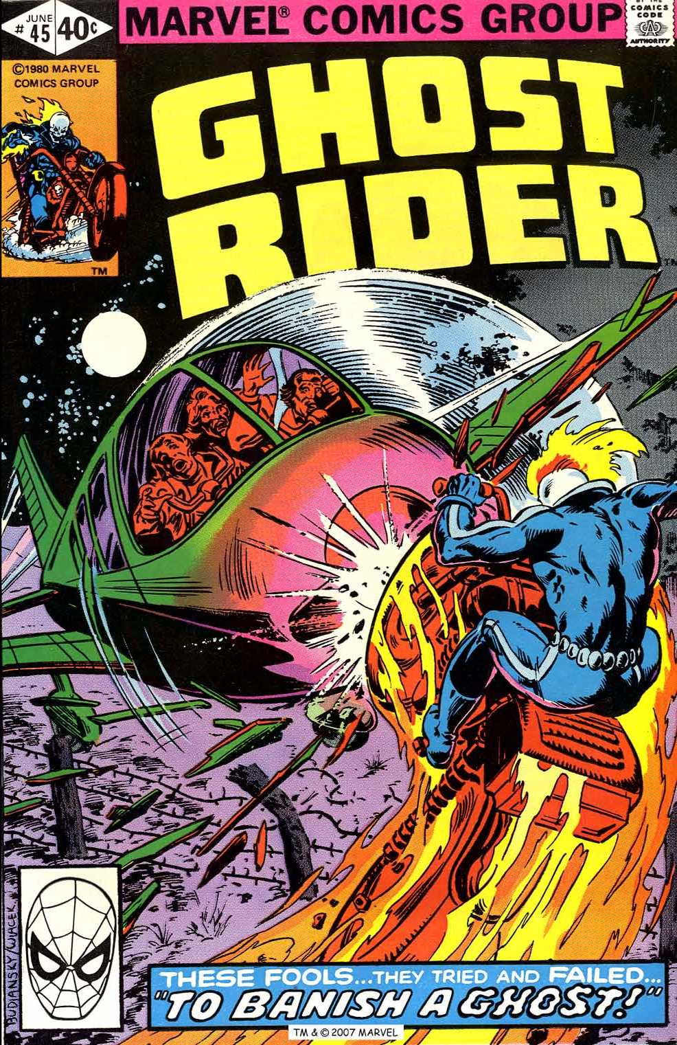Ghost Rider (1973) Issue #45 #45 - English 1