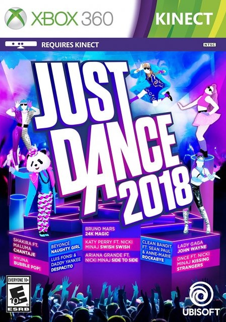 Just Dance 2018 ESPAÑOL XBOX 360 Cover Caratula