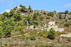 Pueblo y castillo de selma