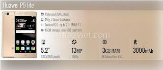 16. Huawei P9 lite