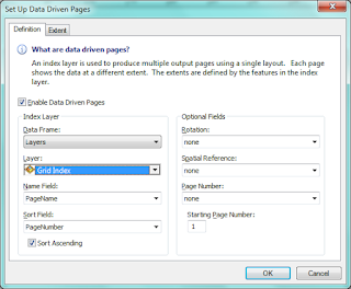 Setup Data Driven Pages