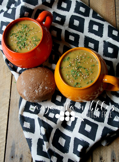 Indulgent and creamy homemade butternut squash and leek soup | Anyonita Nibbles