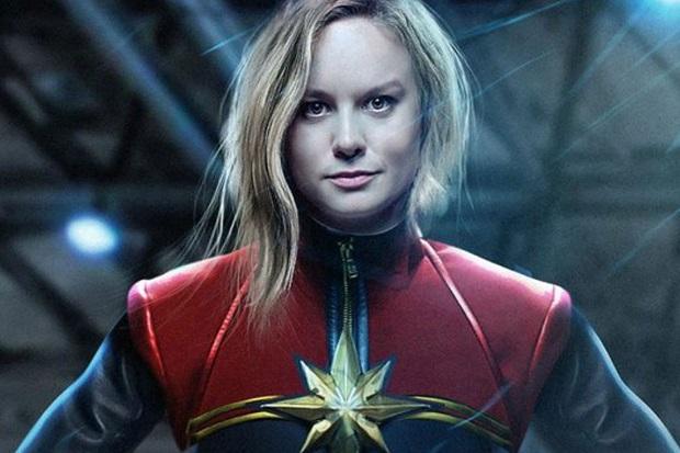 Já viu o novo vídeo de Capitã Marvel?