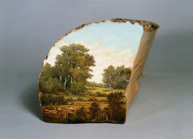 04-Log-Series-Alison-Moritsugu-Landscape-Painting-on-Tree-Logs-www-designstack-co