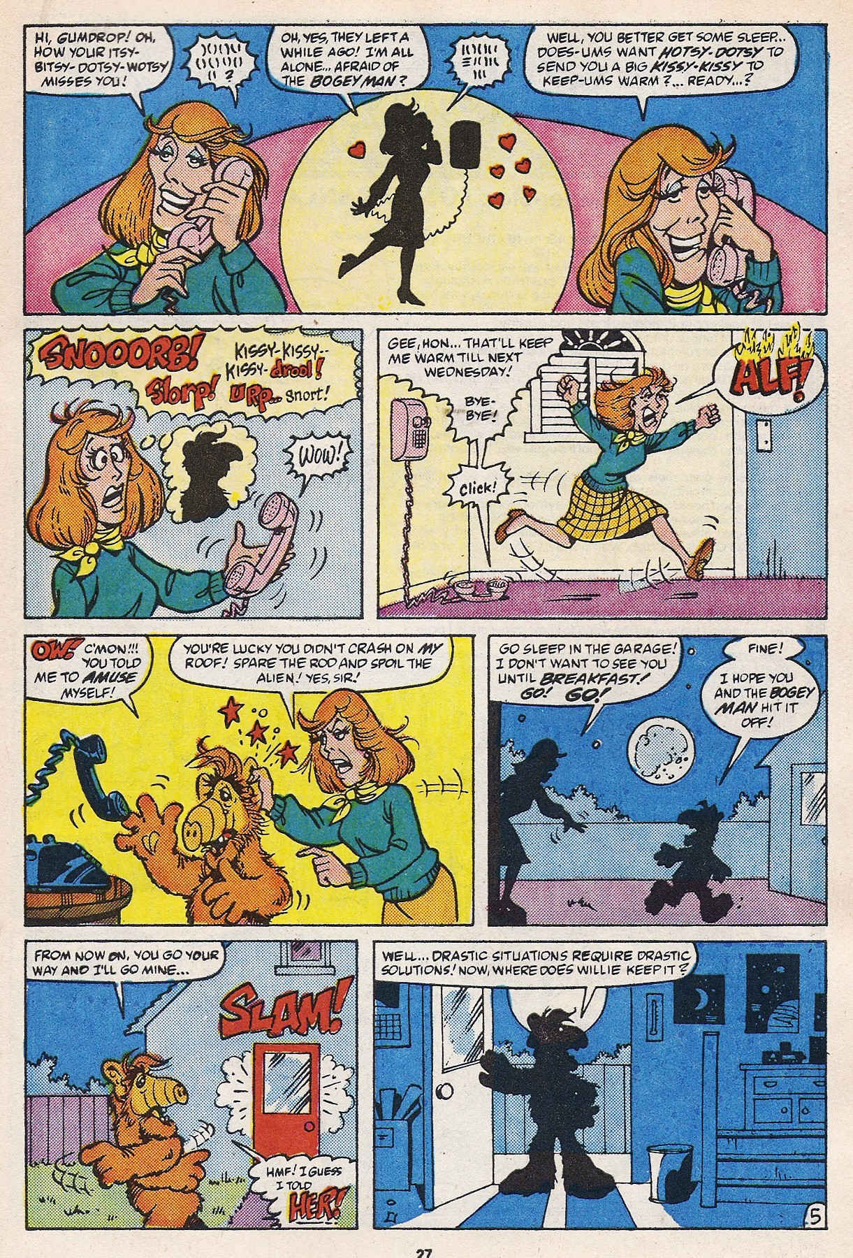 Read online ALF comic -  Issue #16 - 29