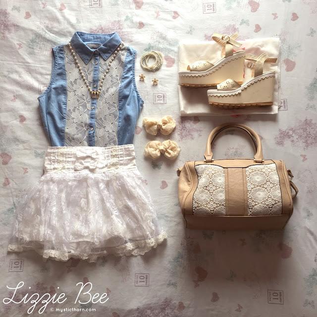 liz lisa, himekaji, outfit idea
