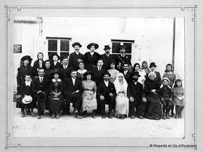 Photos de familles d'Auvergne