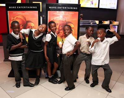 Diepsloot #Chess Players Enjoy Queen of Katwe #Movie @MontecasinoZA
