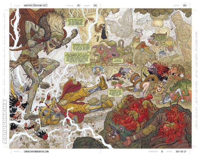 MAESTROS by Steve Skroce - Image Comics