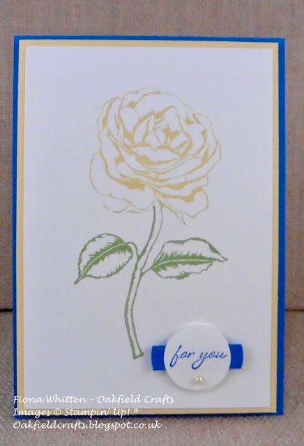 Graceful Garden, Carryover, CAS, Oakfield Crafts, Stampin' Up!