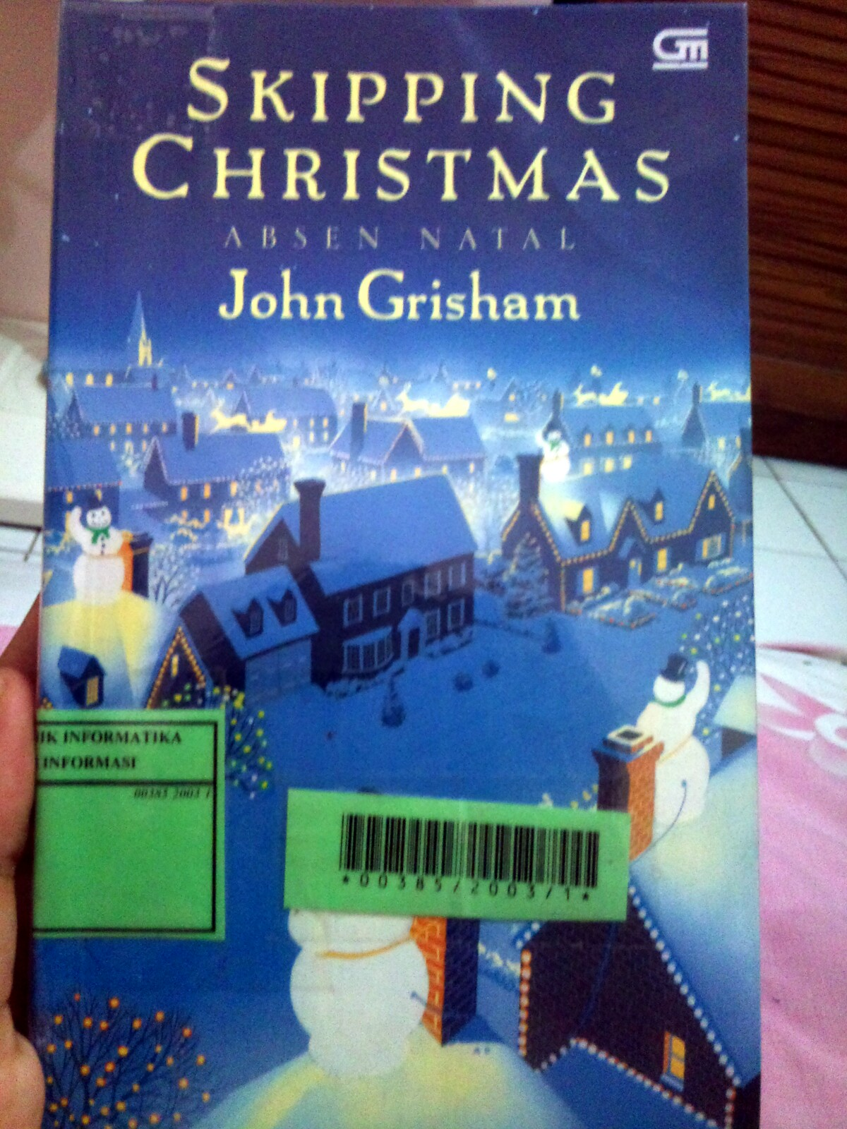 Skipping Christmas.Kuroneko Book Club Review Skipping Christmas John Grisham