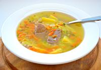 простой суп с мясом рецепт