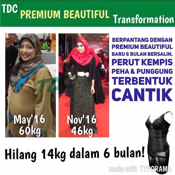 Testimoni Premium Beautiful selepas bersalin
