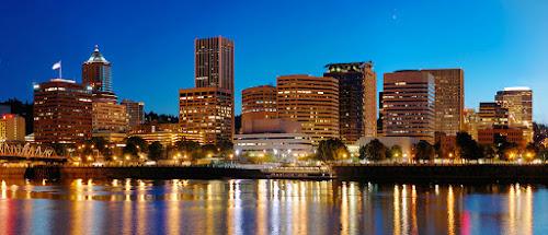 Portland a noite