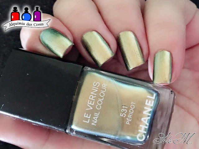 531 - Péridot, Chanel, Fall 2011, SB066, Multichrome, Alê M.