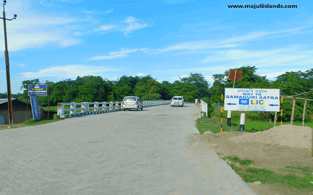 Rawanapara Bridge Of Majuli Island